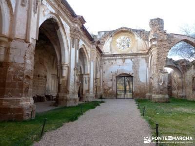 Parque Natural Monasterio de Piedra; sendero del medio; clubs de montaña en madrid;viaje naturaleza